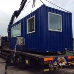 converted container office