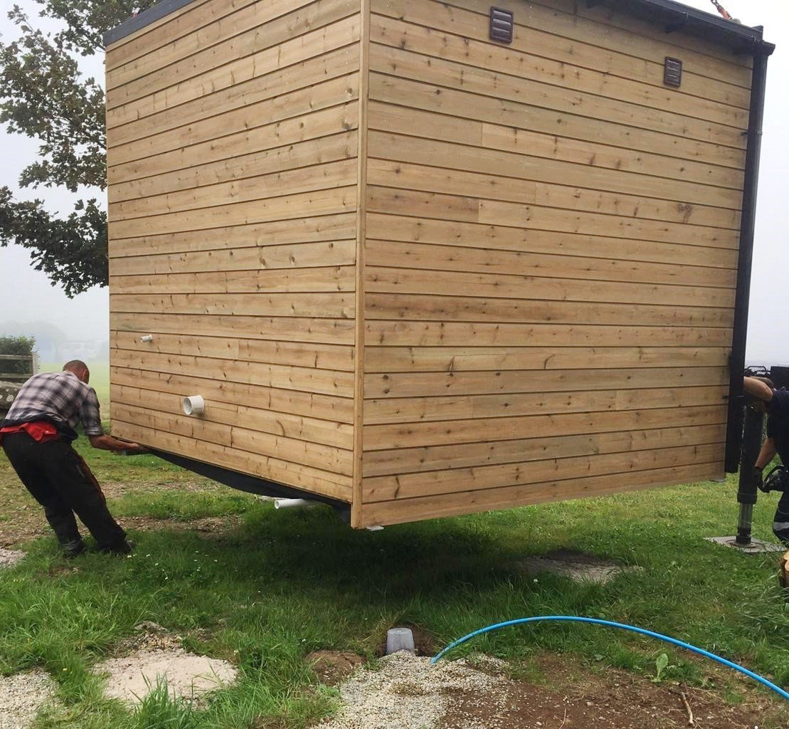Campsite Washing / laundry rooms, Toilet and shower blocks